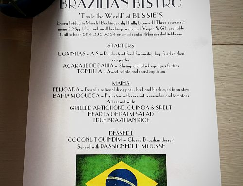 *BRAZILIAN* Bistro Friday 3rd & 17th March