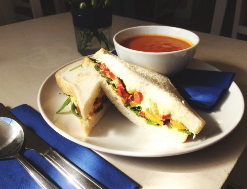 Soup De Jour and a Sandwich!